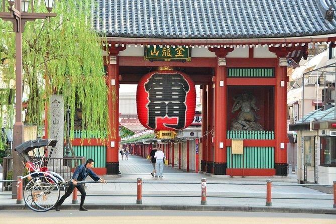 Rickshaw Tour of Asakusa with Geisha Experience Dinner