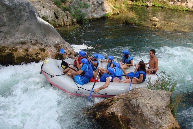 Small-Group Rafting Experience on Cetina River from Split