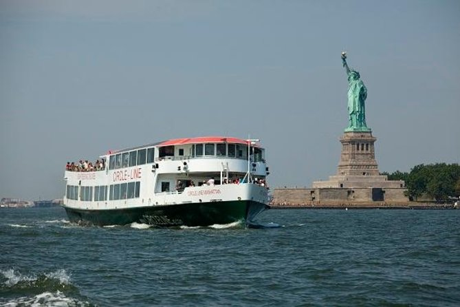 New York City Harbor, Statue of Liberty Circle Line Cruise