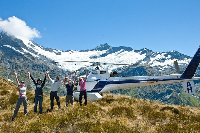 1-Hour Mount Aspiring and Glaciers Helicopter Tour from Wanaka