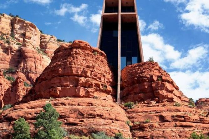 Chapel of the Holy Cross Trolley Tour from Sedona