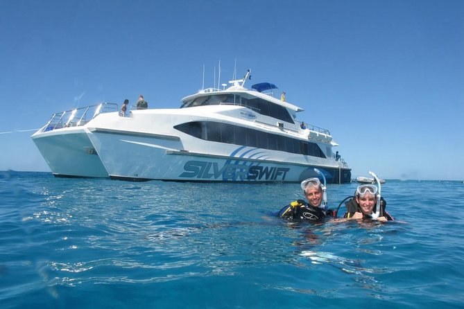 Silverswift Outer Great Barrier Reef Dive and Snorkel Cruise from Cairns