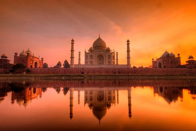 Taj Mahal Sunrise & Agra Fort & Baby Taj Day Tour From Jaipur