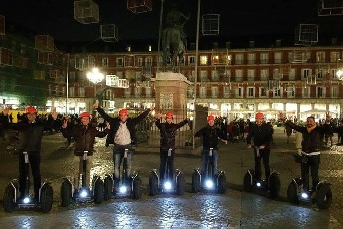 Madrid 1.5 Hour Segway Night Tour (last tour of the day)