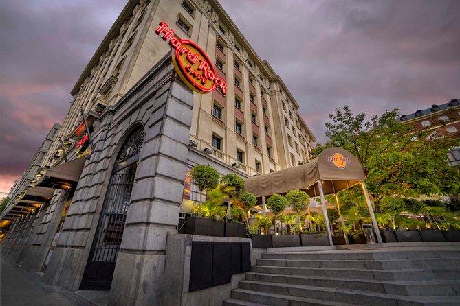 Hard Rock Cafe Madrid Inklusiv måltid