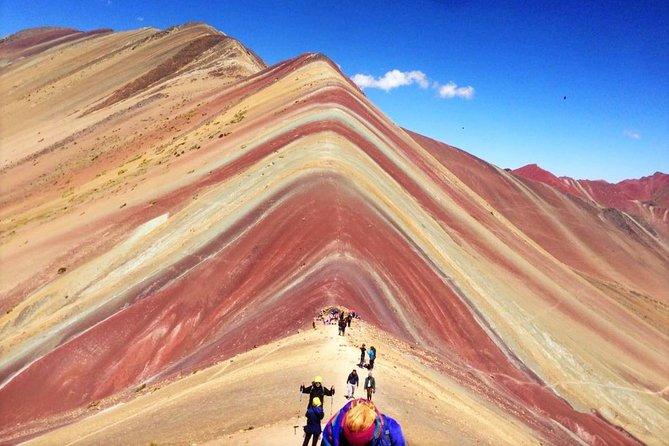 Privat: Vinicunca 7 Color Rainbow Mountain helgedagsturtur