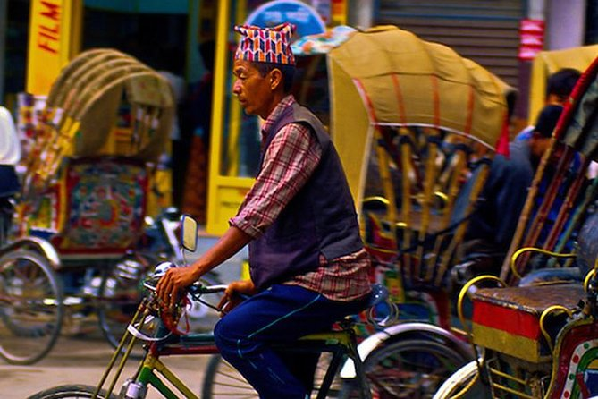 Kathmandu Rickshaw tour of Thamel & Darbar Square -Explore the city like a local