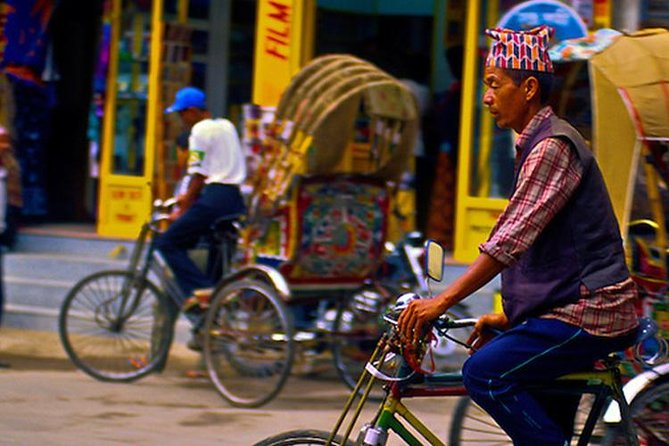 Kathmandu Rickshaw tour of Thamel & Darbar Square -Explore the city like a local photo 2
