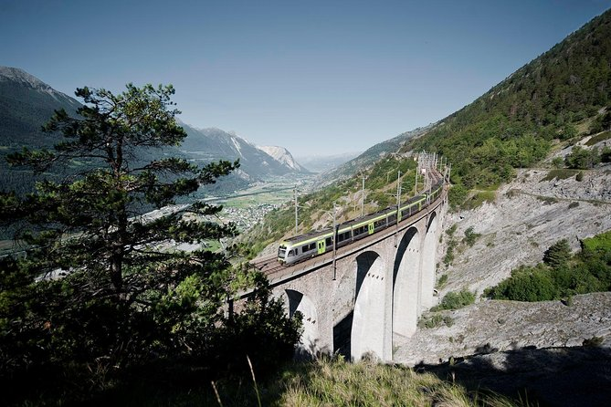 Interlaken and the Green Train of Swiss Alps day trip from Milan
