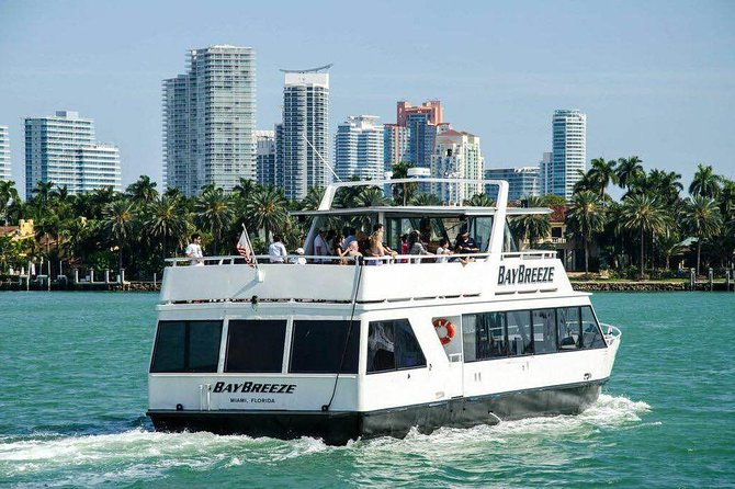 Miami Beach Sightseeing Cruise 2020