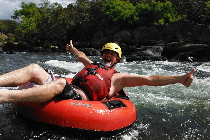 Full-Day River Pack-River Tubing and White-Water Rafting Adventure from Cairns