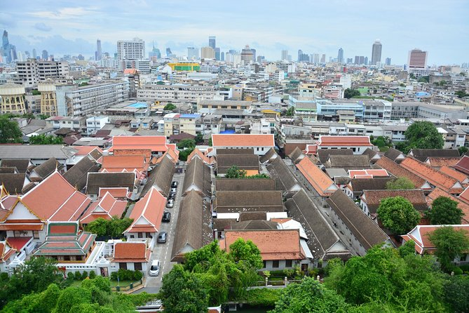 Bangkok past and present from the Golden Mountain