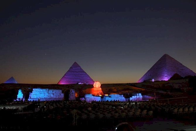 night spectacular Sound and Light Show at Giza photo 2