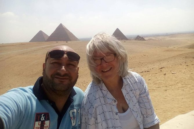Giza pyramids and sphinx half day tour from cairo or giza hotel