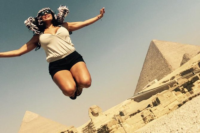 Egyptian Museum ,Giza Pyramids &Souq local market day from Cairo Giza hotels