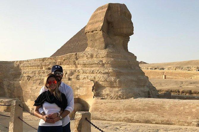 Giza pyramids and night sound light show