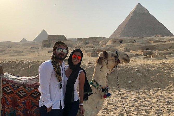 Giza pyramids, sakkara step pyramids and Memphis old city from cairo giza hotels
