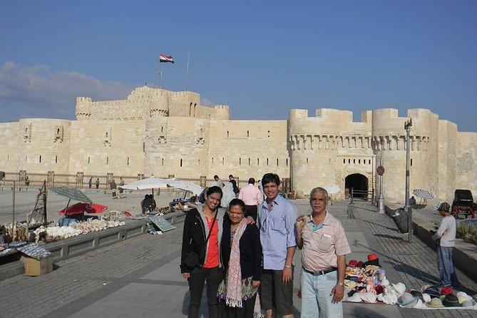 12-Hour Day Tour to Alexandria from Cairo Giza Hotels
