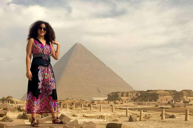 cairo layover Giza pyramids Egyptian museum local bazaars from Cairo airport