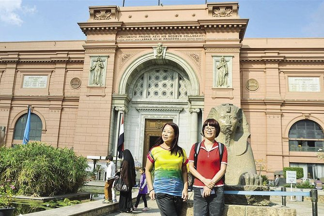 4 hours half day Egyptian museum from Cairo or Giza hotel