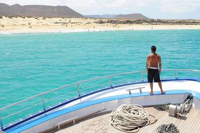 Cruzeiro Glassbottom às Praias La Graciosa