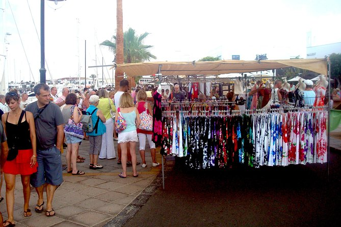 Playa Blanca street market and free time photo 3