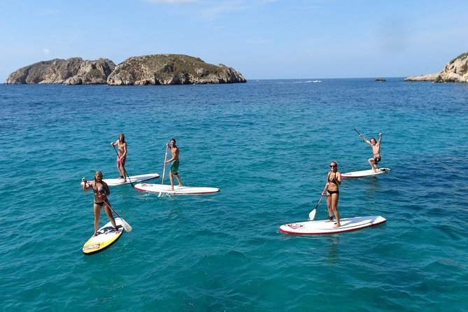 Stand Up Paddle Surf Tour of Santa Ponsa Beaches