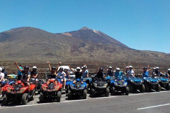 Tenerife: Quad Adventure Teide Tour