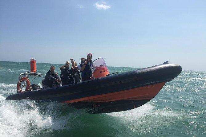 Motorbootfahrt in Brighton