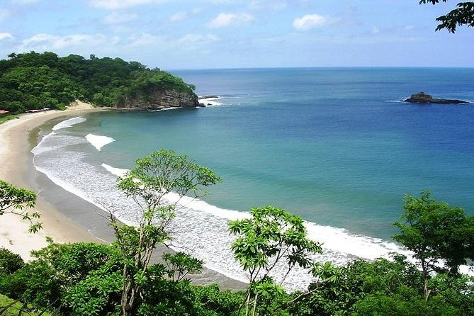 Beach View Zipline Tour in San Juan del Sur from Managua