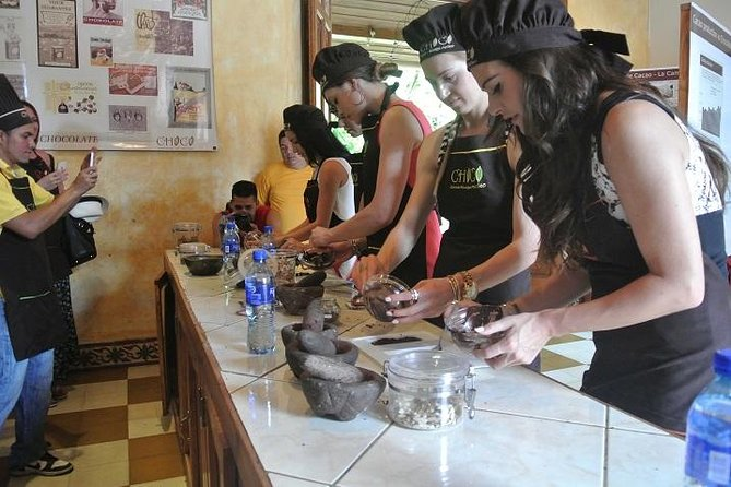 Make your own chocolate in the Mansion