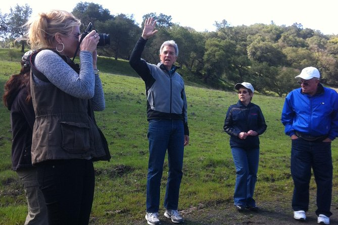 Guided Nature Walk and Wine Tasting in South Santa Clara Valley