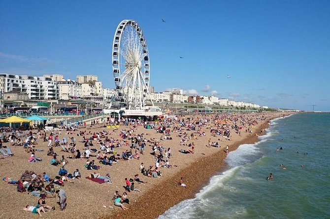 Private Round Trip Or One Way Transfer: Heathrow Airport to Brighton