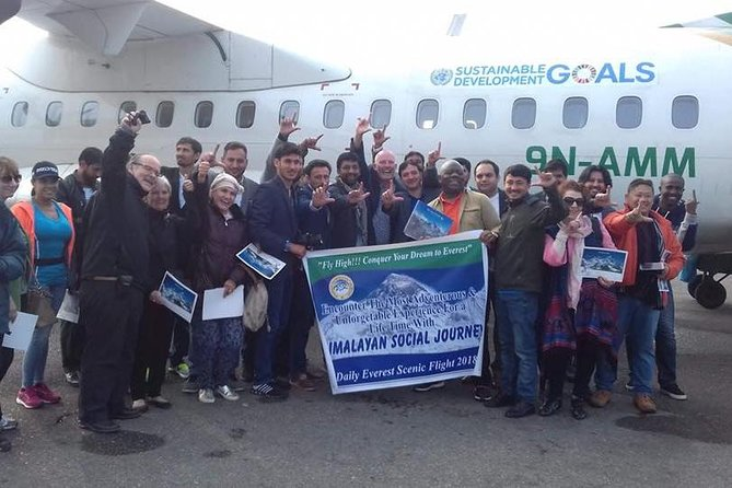 Everest Scenic Tour by Plane with Hotel Pickup