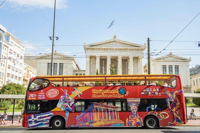 Excursão da City Sightseeing por Atenas, Pireu e Beach Riviera, com várias paradas
