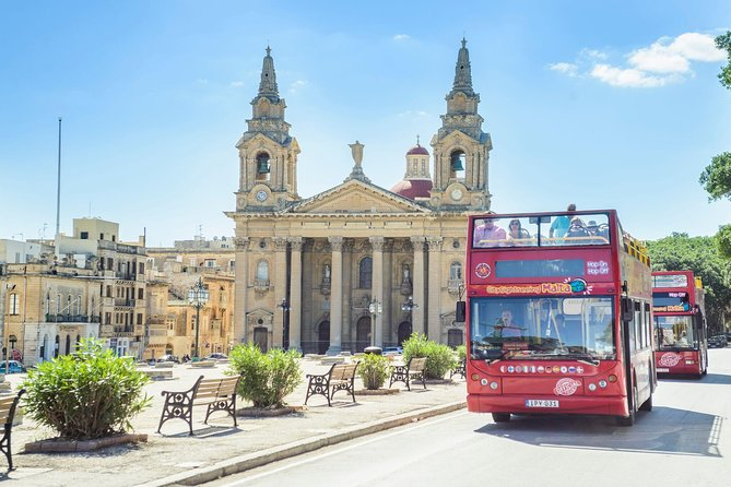 Malta Shore Excursion: City Sightseeing Malta Hop-On Hop-Off Bus and Boat Tour