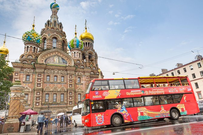 City Sightseeing St Petersburg Hop-On Hop-Off Bus Tour