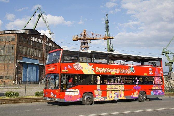City Sightseeing Gdansk Hop-On Hop-Off Bus Tour