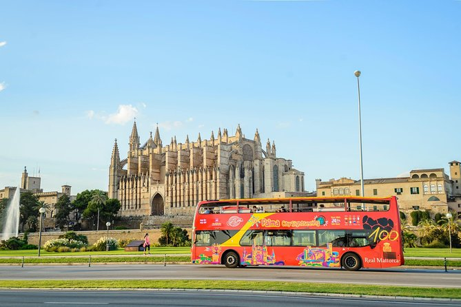 Palma de Mallorca Hop-On Hop-Off Bus Tour with Optional Boat & Belver Castle