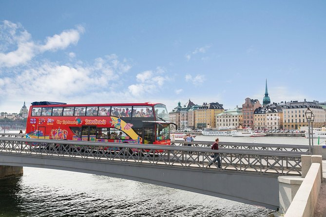 Stockholm Shore Excursion: Stockholm City Sightseeing Hop-On Hop-Off Image