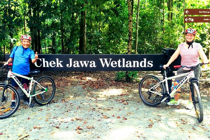 Halve dag Pulau Ubin Cycling Adventure uit Singapore