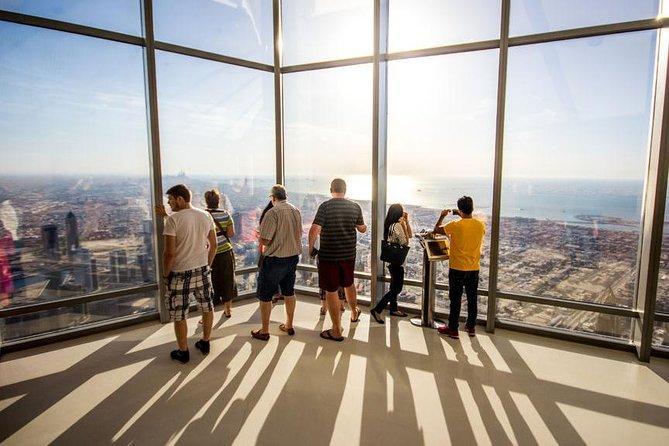 DXB City Tour & Burj Khalifa 124th-Floor Entrance: Covid-19 safe & PRIVATE tour