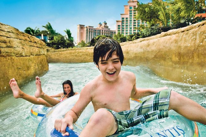 DXB Tour and Aquaventure water park & lost Chambers PRIVATE tour
