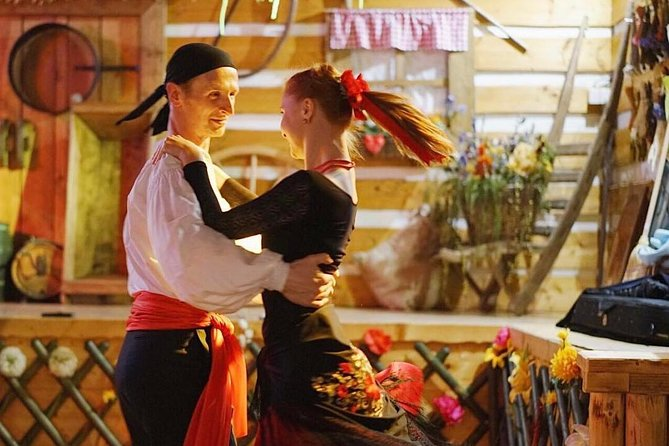 Czech Folklore Show with dinner and private transfer