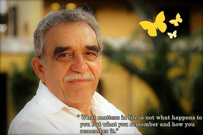Private Tour - Gabriel Garcia Marquez Living to tell the tale