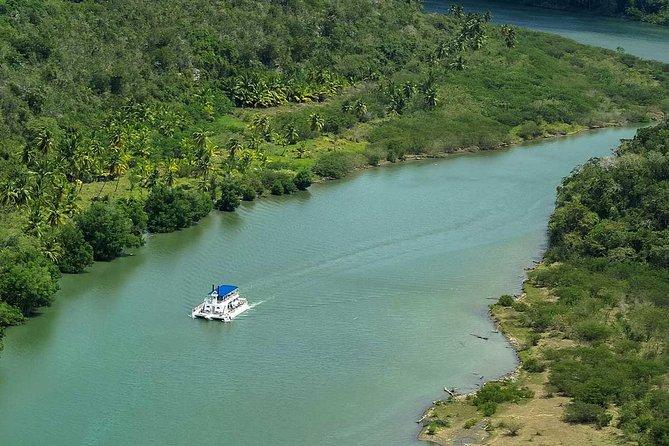 Excursión combinada por Punta Cana: Isla Catalina, Altos de Chavón y río Chavón