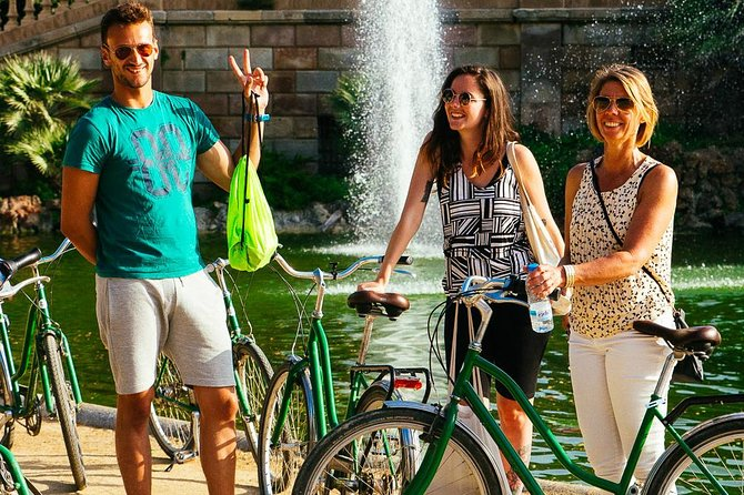 Withlocals Covid-19 Regulated PRIVATE Gaudi Bike Tour in Barcelona
