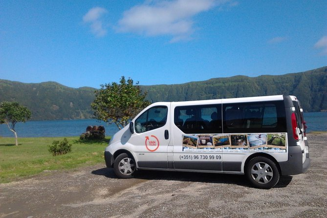 FD VAN Sete Cidades and Fogo Lake Tour with lunch from Ponta Delgada