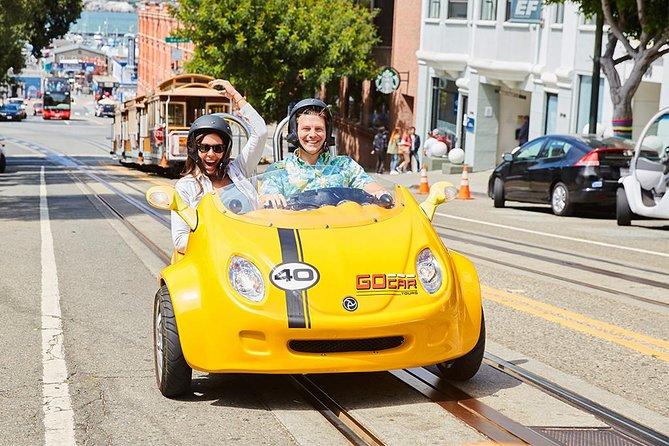 Pacote de aventura de GoCar, de dia inteiro, incluindo São Francisco e Alcatraz