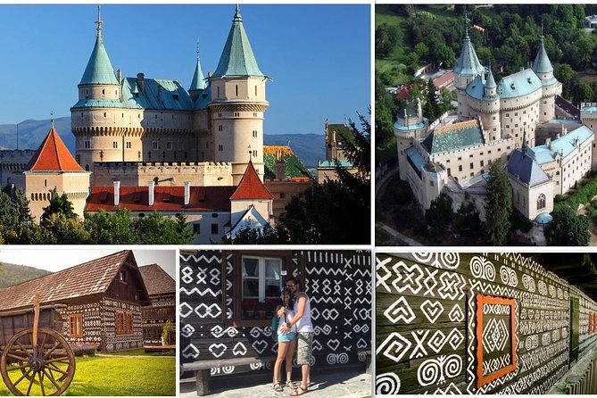 Private Day Trip to Bojnice Chateau and Cicmany village